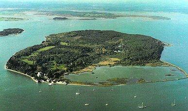 Brownsea Island - the home of the 1907 experimental camp