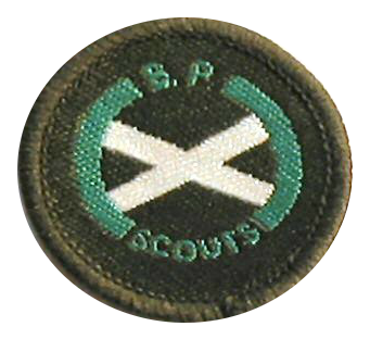 Scout Piper Badge